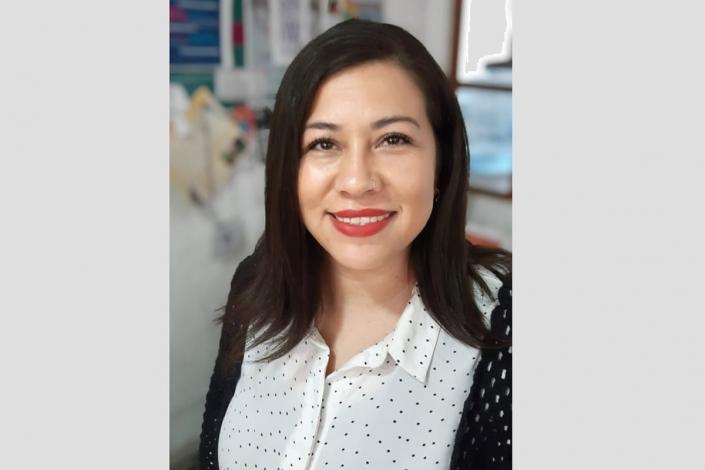 Directora Red PECE, Deniz Díaz.
